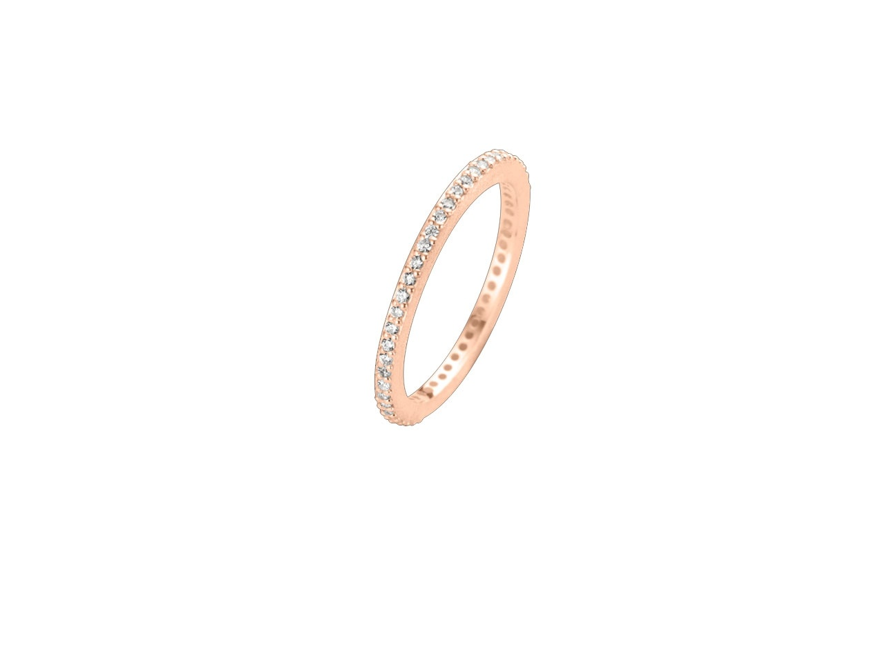 Spirit Icons Ring Chic Silber Rosegold 53054
