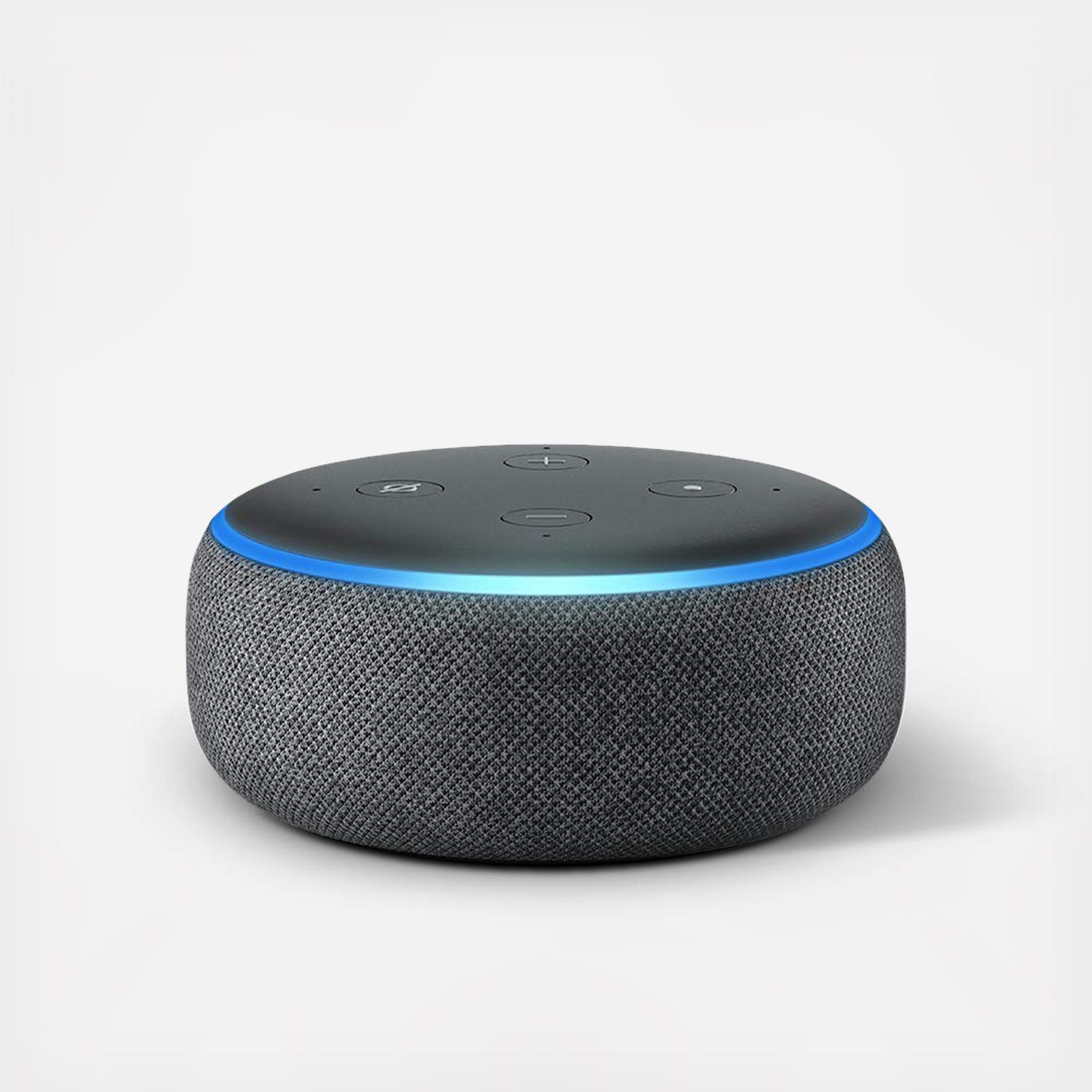 Echo Dot Installation Echo Dot 3rd Generation By Amazon Wedding Planning Registry Gifts