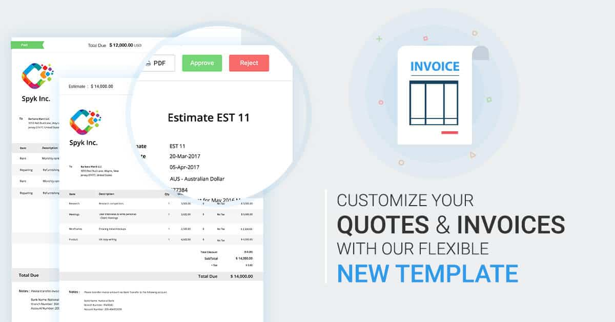 Avaza Releases More Flexible Invoice Templates - Avaza