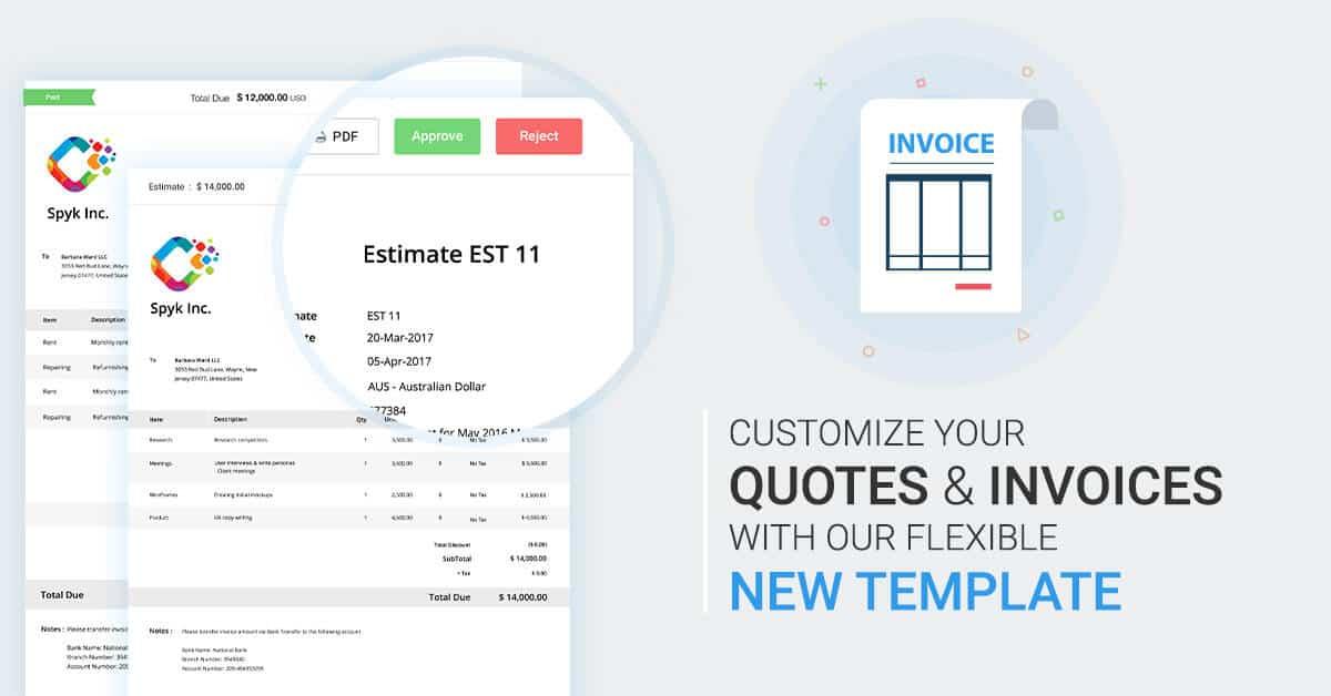 Avaza Releases More Flexible Invoice Templates - Avaza