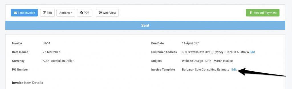 Avaza Releases More Flexible Invoice Templates - Avaza - templates invoices