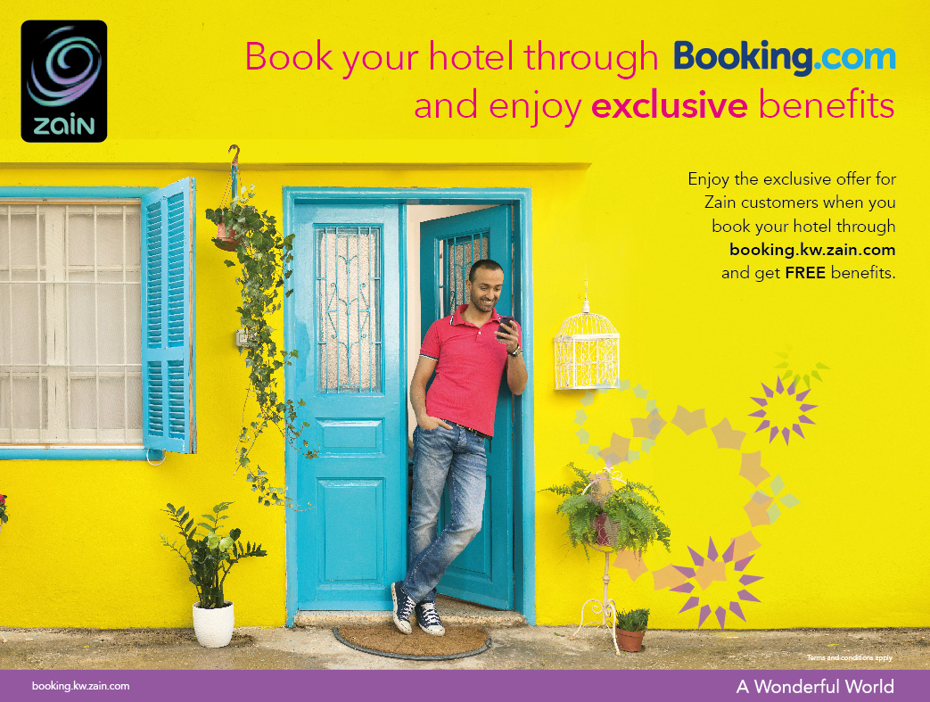 Booking Site Zain Announces Group Wide Partnership With Leading Hotel Site