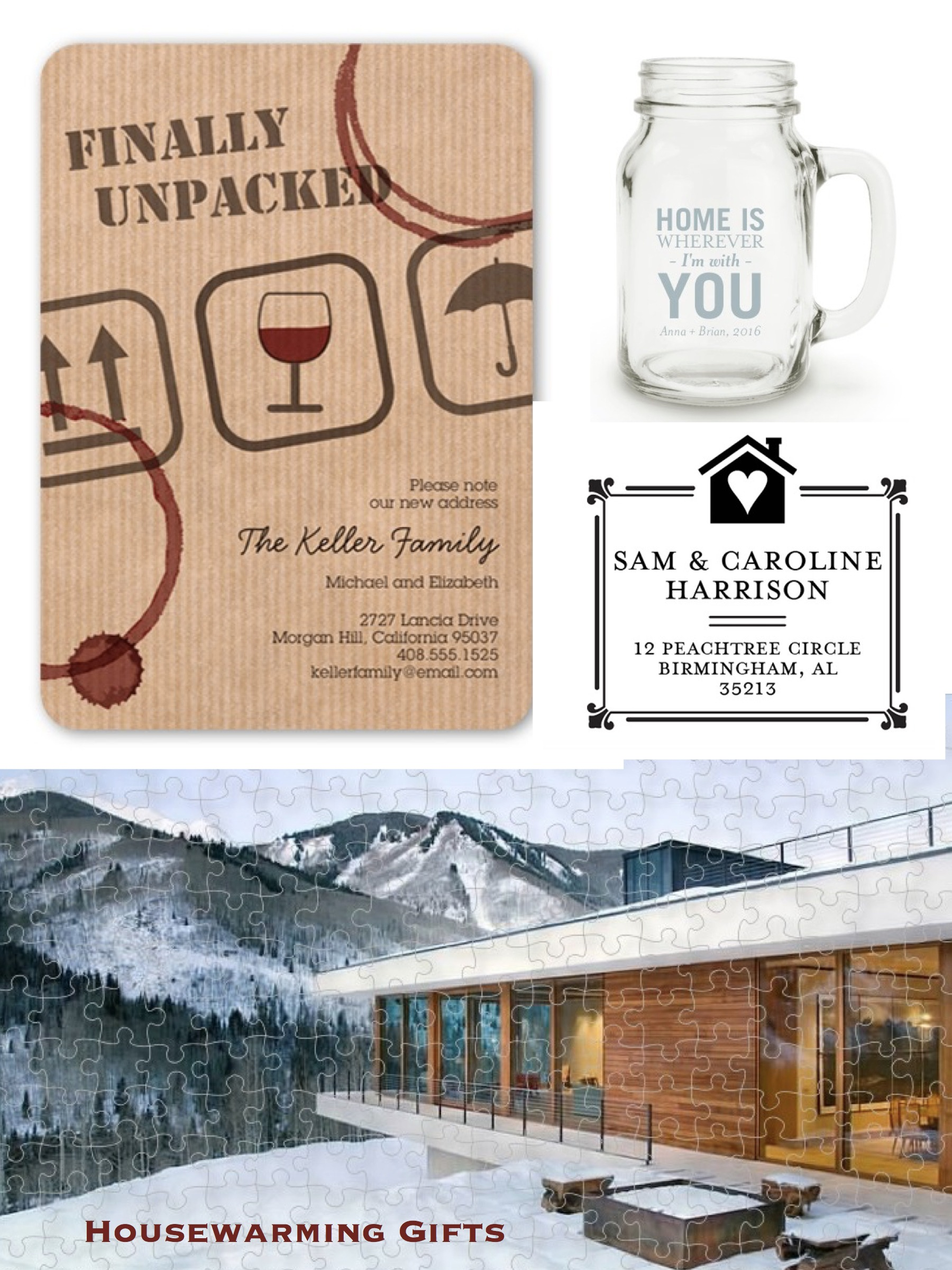 Personalized House Warming Gift Personalized Housewarming Gifts Realestateclientgifts