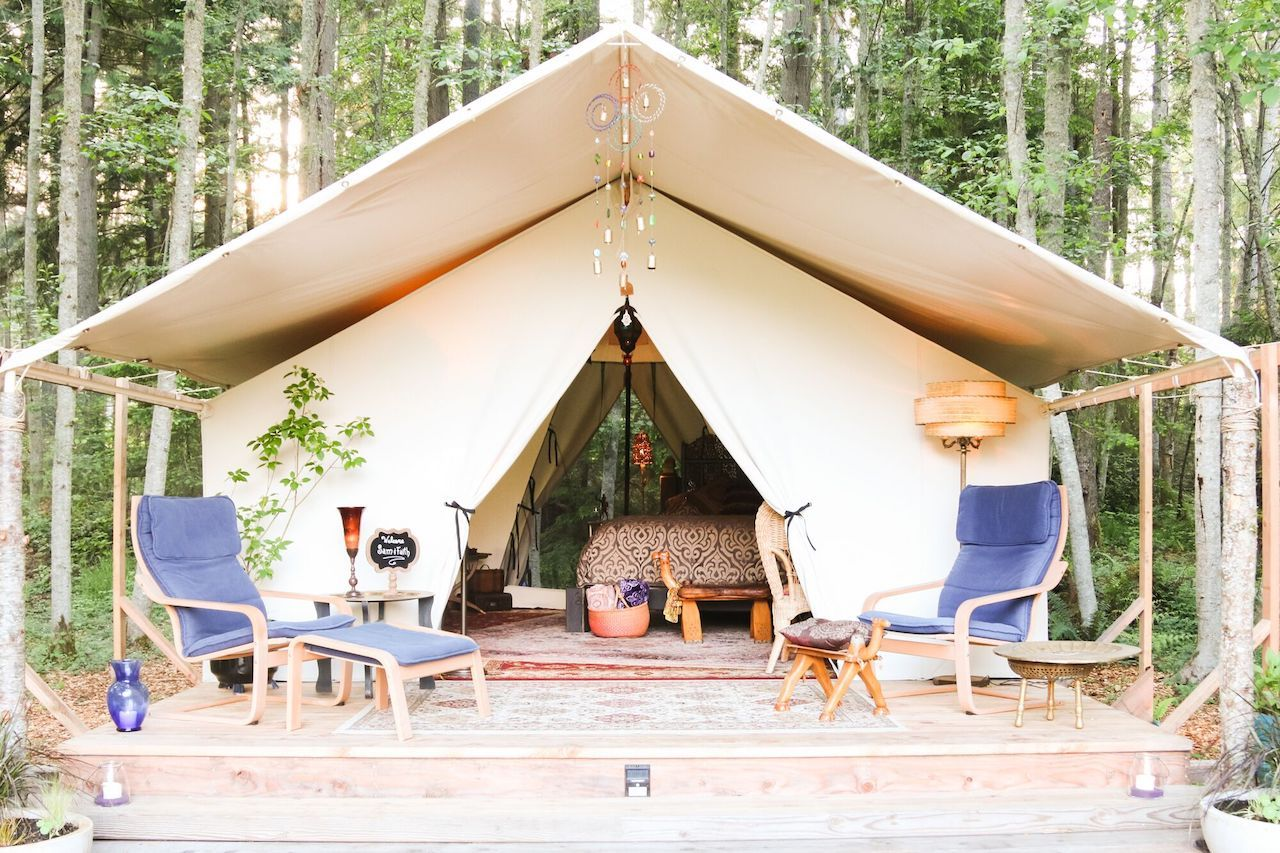 Camano Island State Park Weather Best Glamping In Whidbey Island In Washington Near Seattle