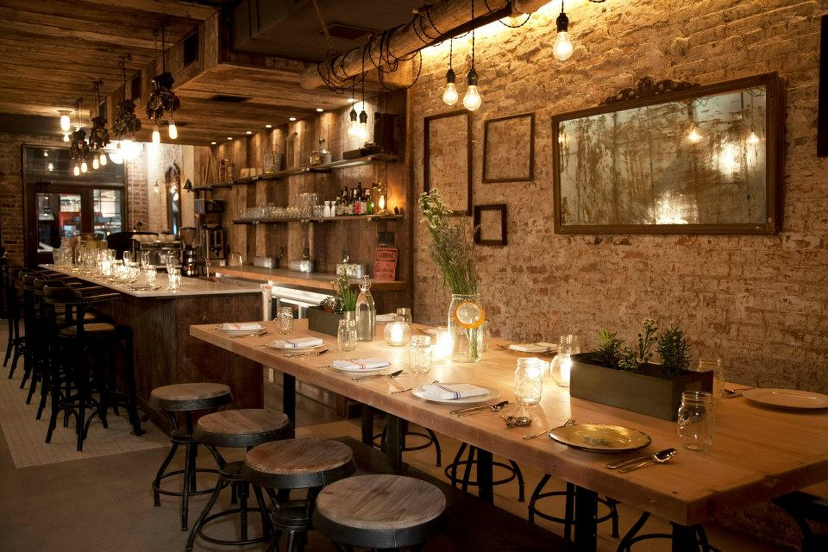 Restaurant Farmhouse Chicago Feast East Village New York The Infatuation
