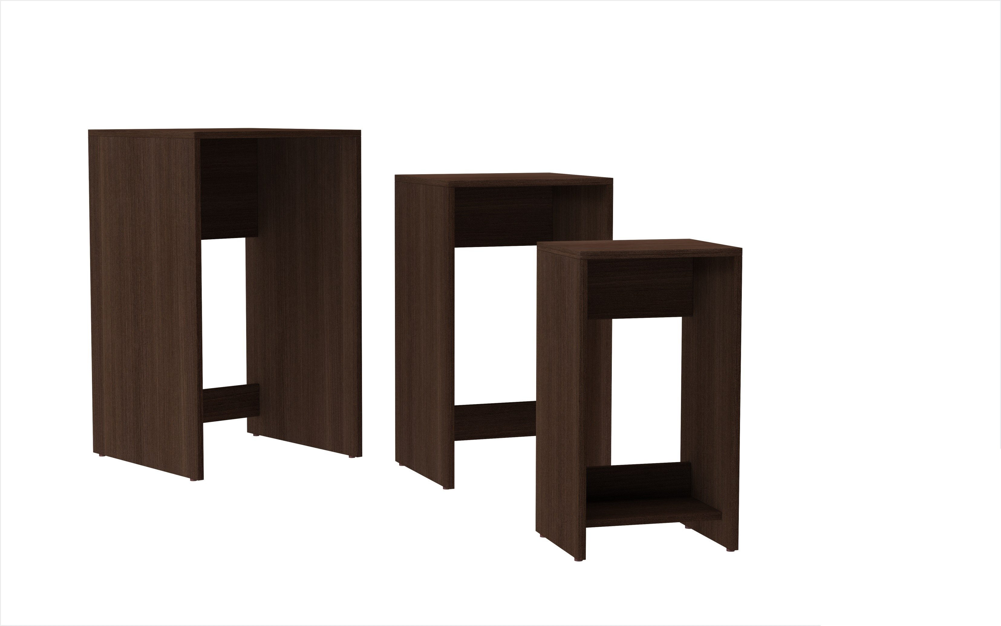 Saffle Nested Side Table 10 By Manhattan Comfort Mhc
