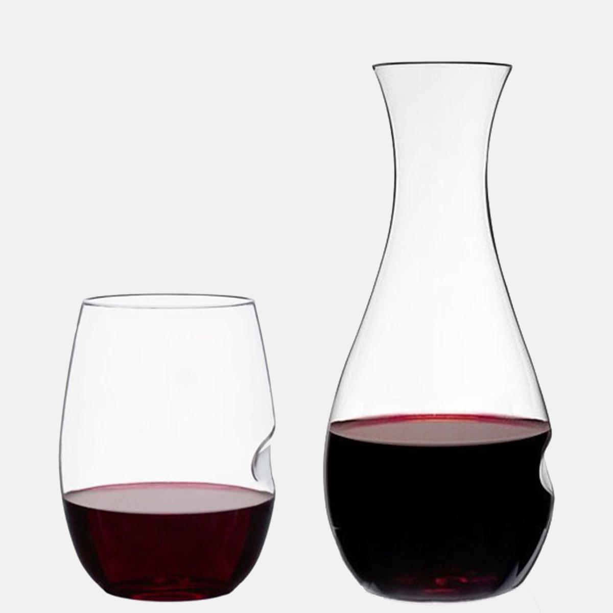 Decanter Wine Glas Go Anywhere Decanter And Wine Glass Set Govino