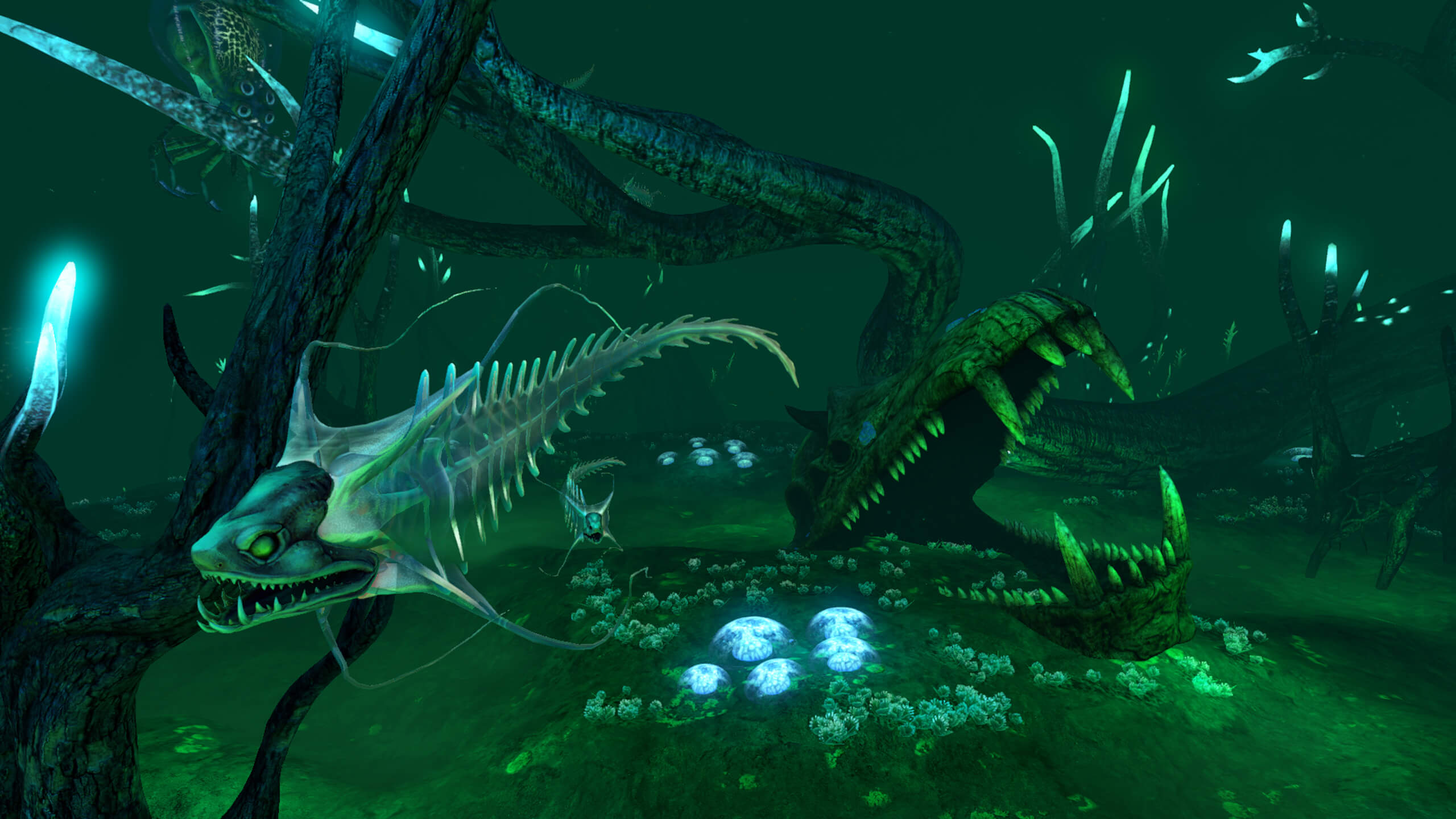 Animal Planet Wallpaper Bones Update Subnautica