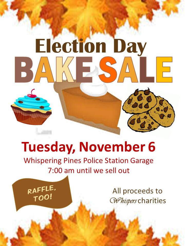 Nov 6 · Election Day Bake Sale \u2014 Nextdoor