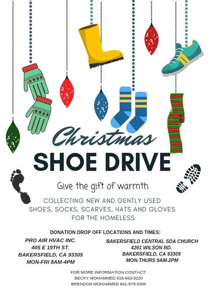 Dec 3 · SHOE DRIVE \u2014 Nextdoor