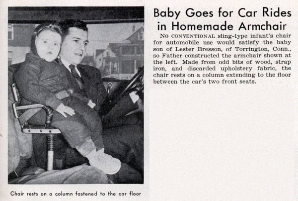 "Baby Chair Manufacturers A Graphic History Of Child ""safety"" Seats • Petrolicious"