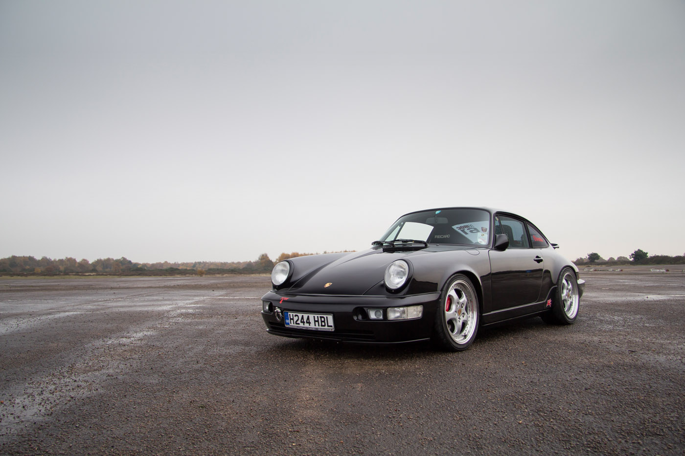 I Want To Believe Wallpaper Iphone Porsche 964 Allows For Fast Escape Petrolicious