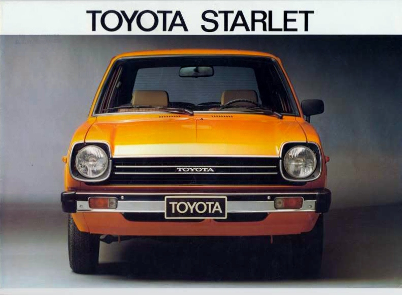 These Toyota Starlet Commercials and Japanese Designs Win \u2022 Petrolicious