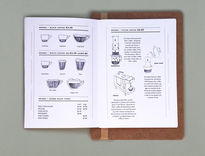FOLKE Design Agency Menu design Pinterest Design agency - coffee menu