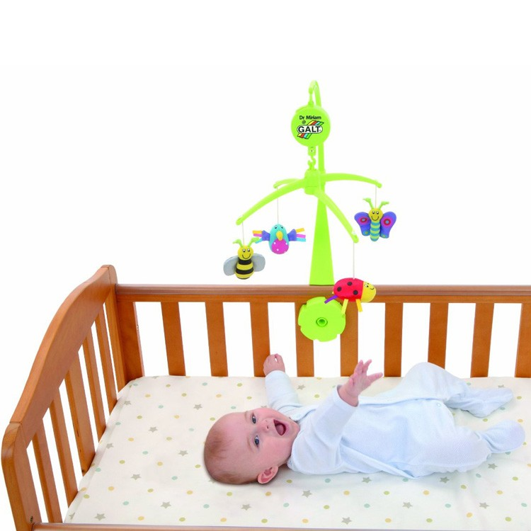 Baby Mobile Bugs Bird Musical Crib Toy Educational - Electronic Crib Mobile