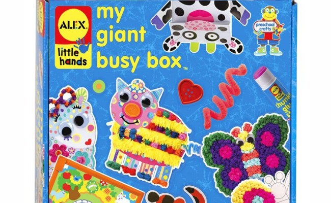 My Giant Busy Box Arts Crafts Kit Educational Toys Planet