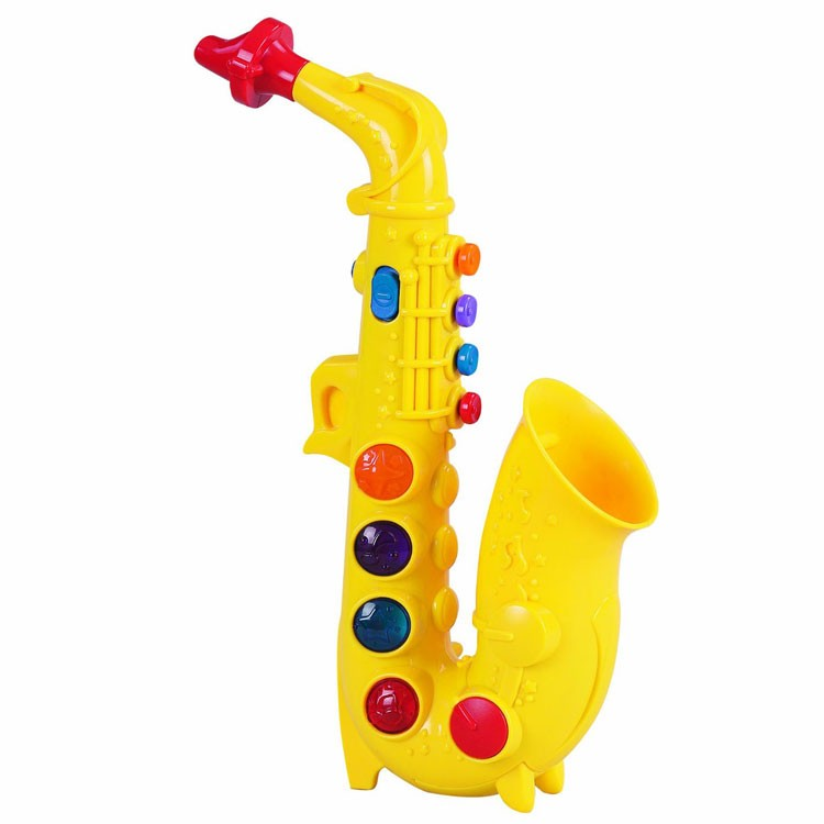 Baby Einstein 3 Meses Toy Saxophone Musical Instrument - Educational Toys Planet