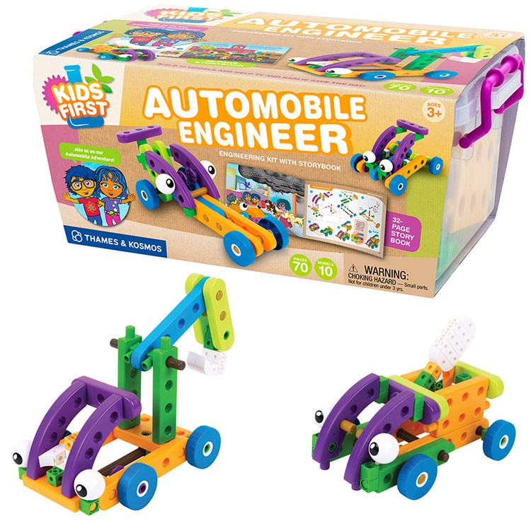 Kids First Automobile Engineer Science Kit - Educational Toys Planet
