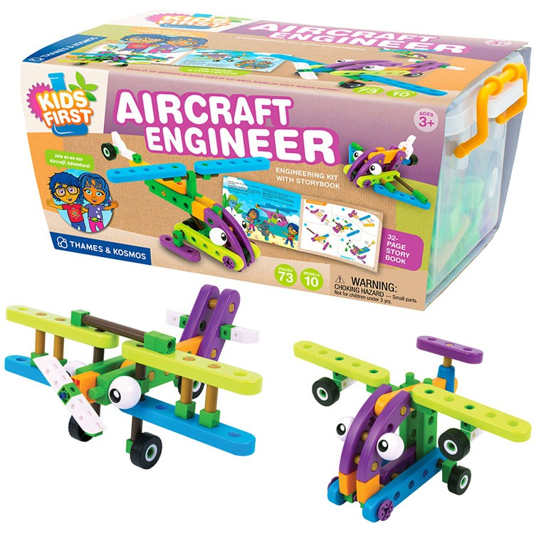 Kids First Aircraft Engineer Science Kit - Educational Toys Planet