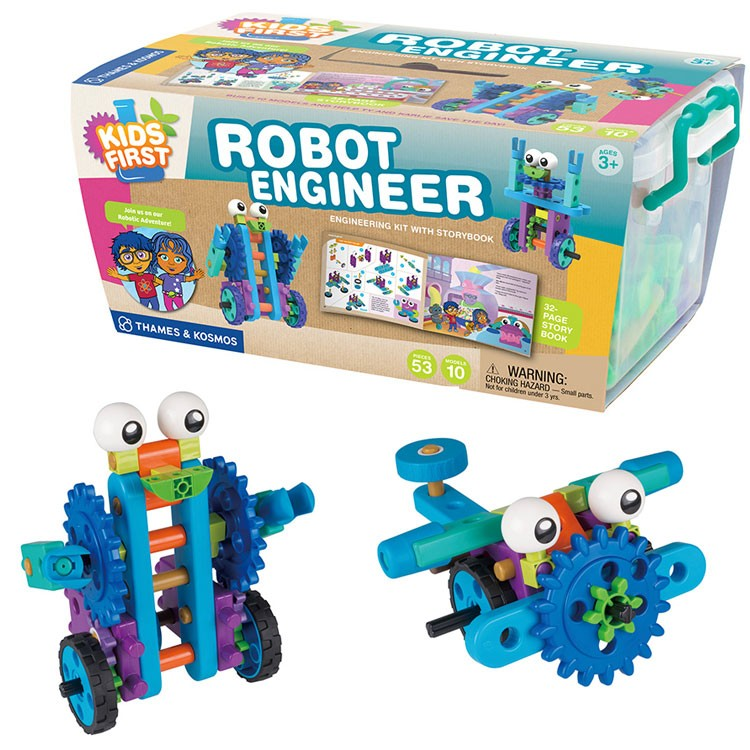 Kids First Robot Engineer Building Kit - Educational Toys Planet