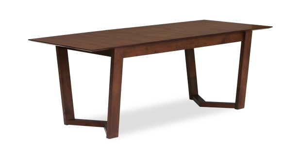 vitas expandable dining table