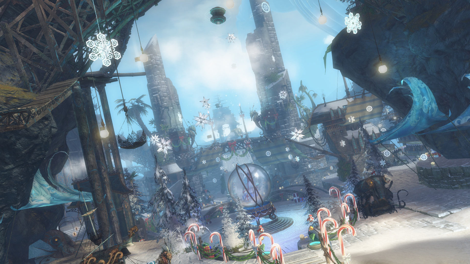 Christmas Wallpaper Hd 1920x1080 A Very Merry Wintersday Guildwars2 Com