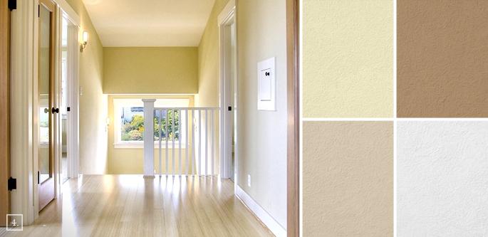 Inbetween Rooms: Hallway Paint Colors