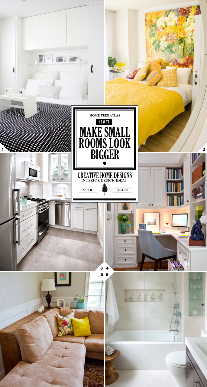 How To Make A Small Room Look Bigger Creative Design Ideas And Tips Interior Design