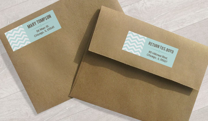 Address Labels, Shipping Labels, Mailing Labels StickerYou Products - Address Label