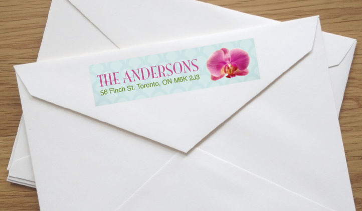 Address Labels, Shipping Labels, Mailing Labels StickerYou Products - Sample Return Address Label