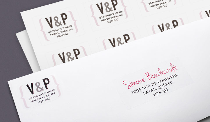 Address Labels, Shipping Labels, Mailing Labels StickerYou