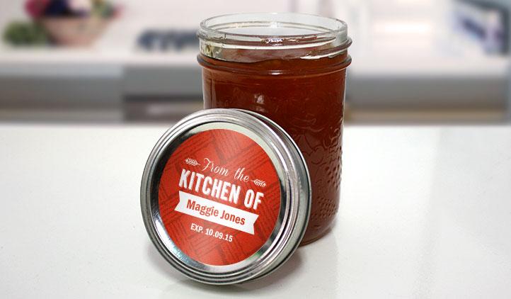Bernardin Jar Labels StickerYou Products - StickerYou