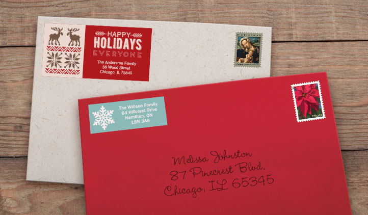 Holiday Labels StickerYou Products - Address Label