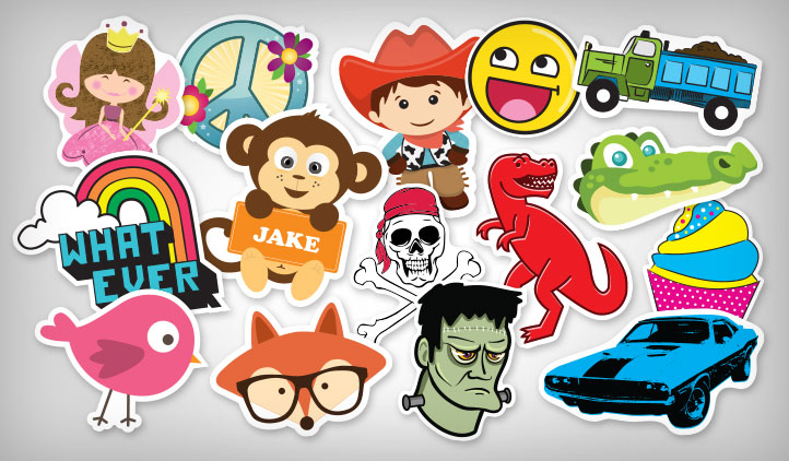 Kids Stickers Stickeryou Products