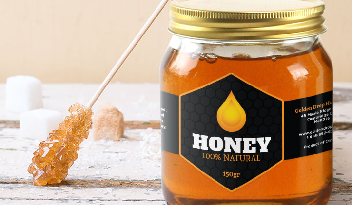 Custom Honey Labels and Jar Labels StickerYou Products - StickerYou