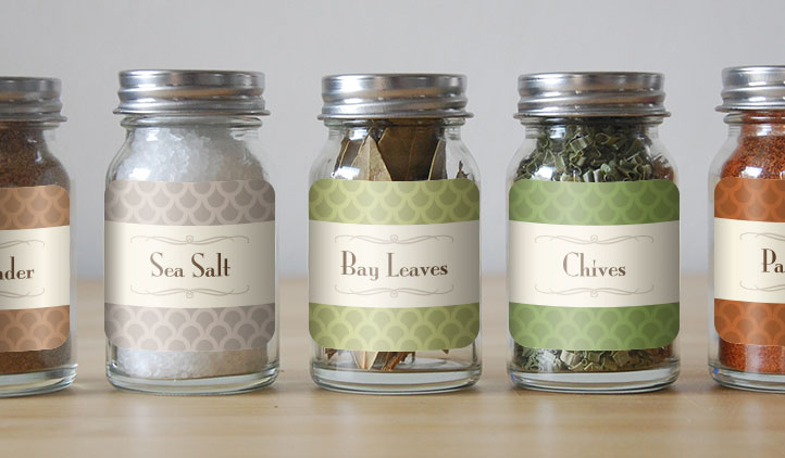 Custom Spice Labels and Jar Labels StickerYou Products - StickerYou