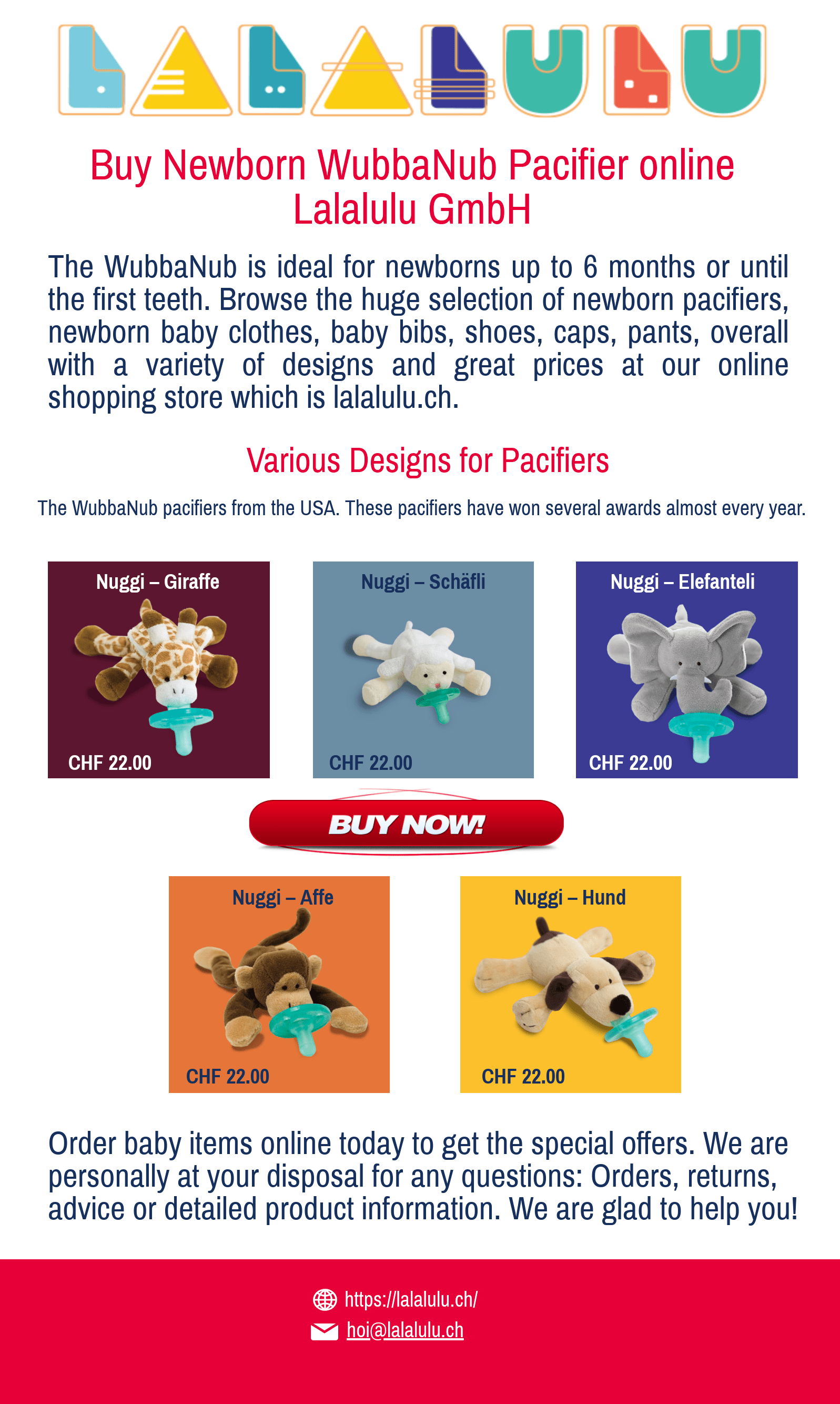 Newborn Babies Online Shopping Buy Wubbanub Pacifier Switzerland Online Lalalulu Gmbh By
