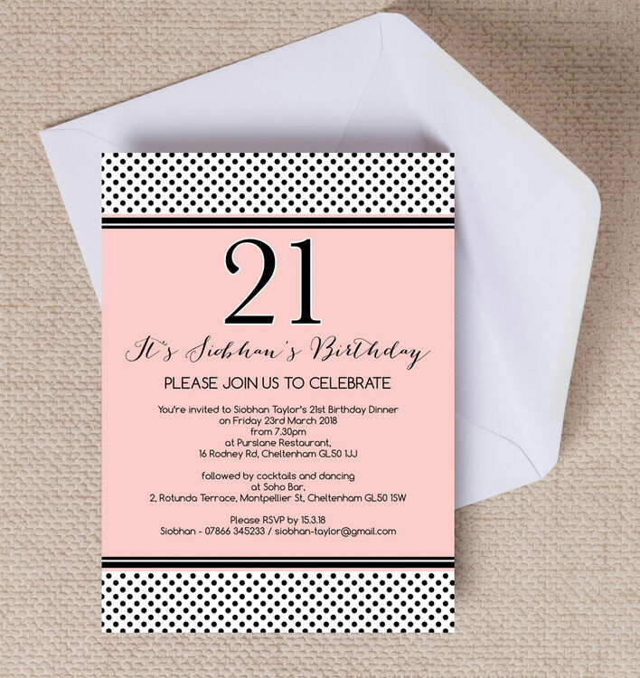 21st Party Invitation | kicksneakers.co