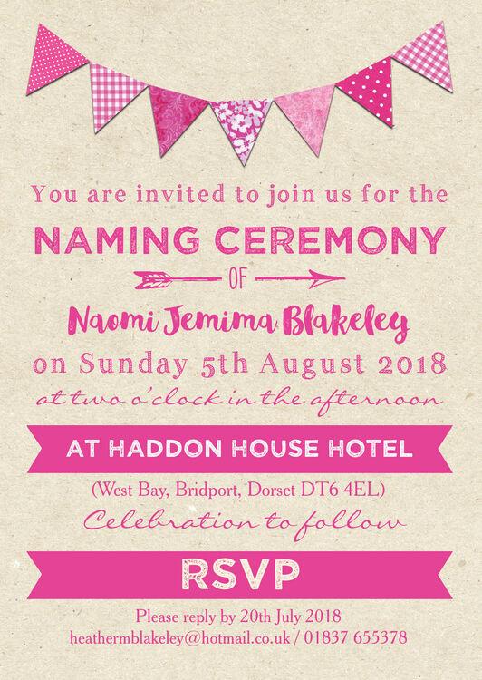 invitation for naming ceremony - Ozilalmanoof