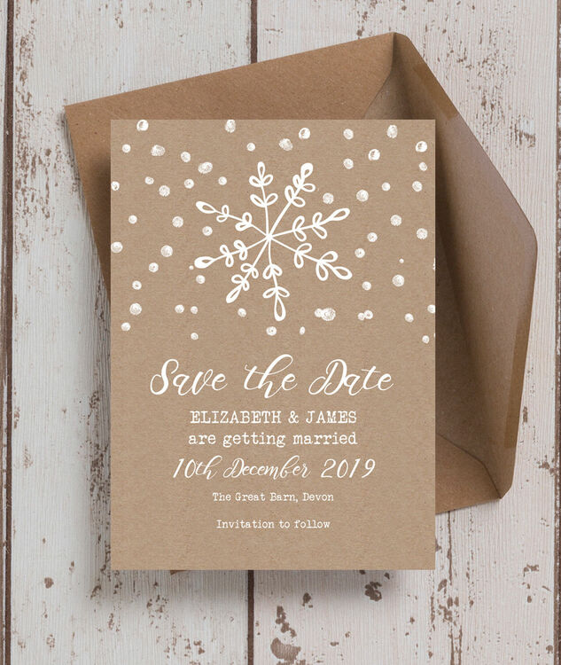 Christmas Wedding Save The Date Cards getcontagio
