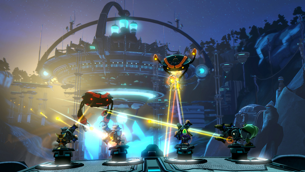 Resistance Fall Of Man Wallpaper Ratchet Amp Clank All 4 One Insomniac Games