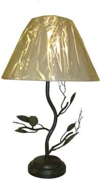 BIRD tree branch accent METAL TABLE LAMP desk light   eBay