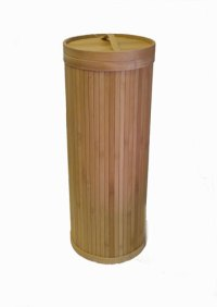 ECO BAMBOO 3 ROLL upright TOILET paper TISSUE HOLDER ...