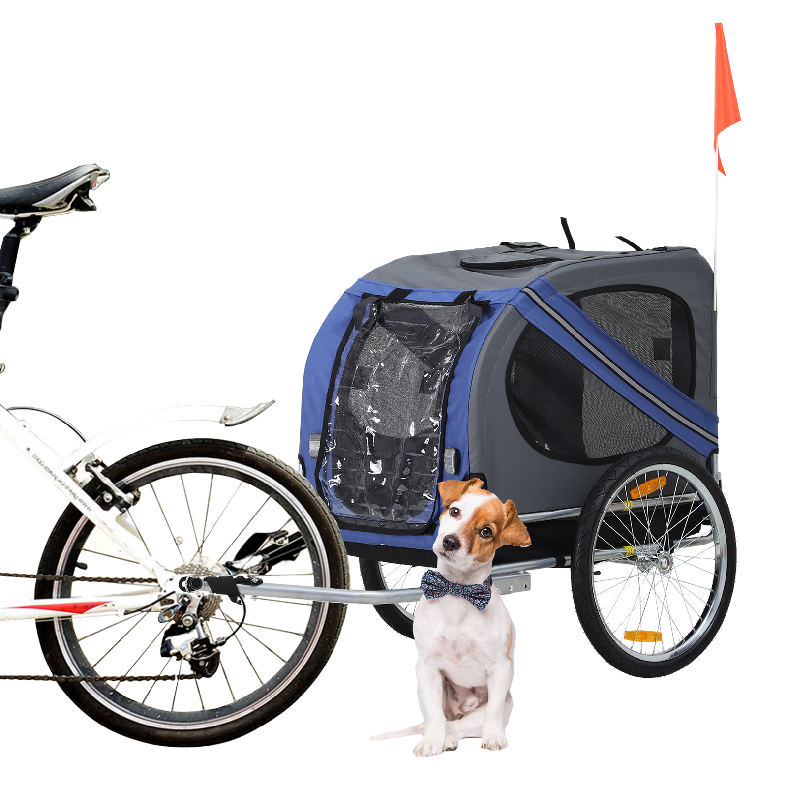 Pet Carrier On Sale Details About Boxing Day Sale Pet Bicycle Trailer Dog Cat Bike Carrier