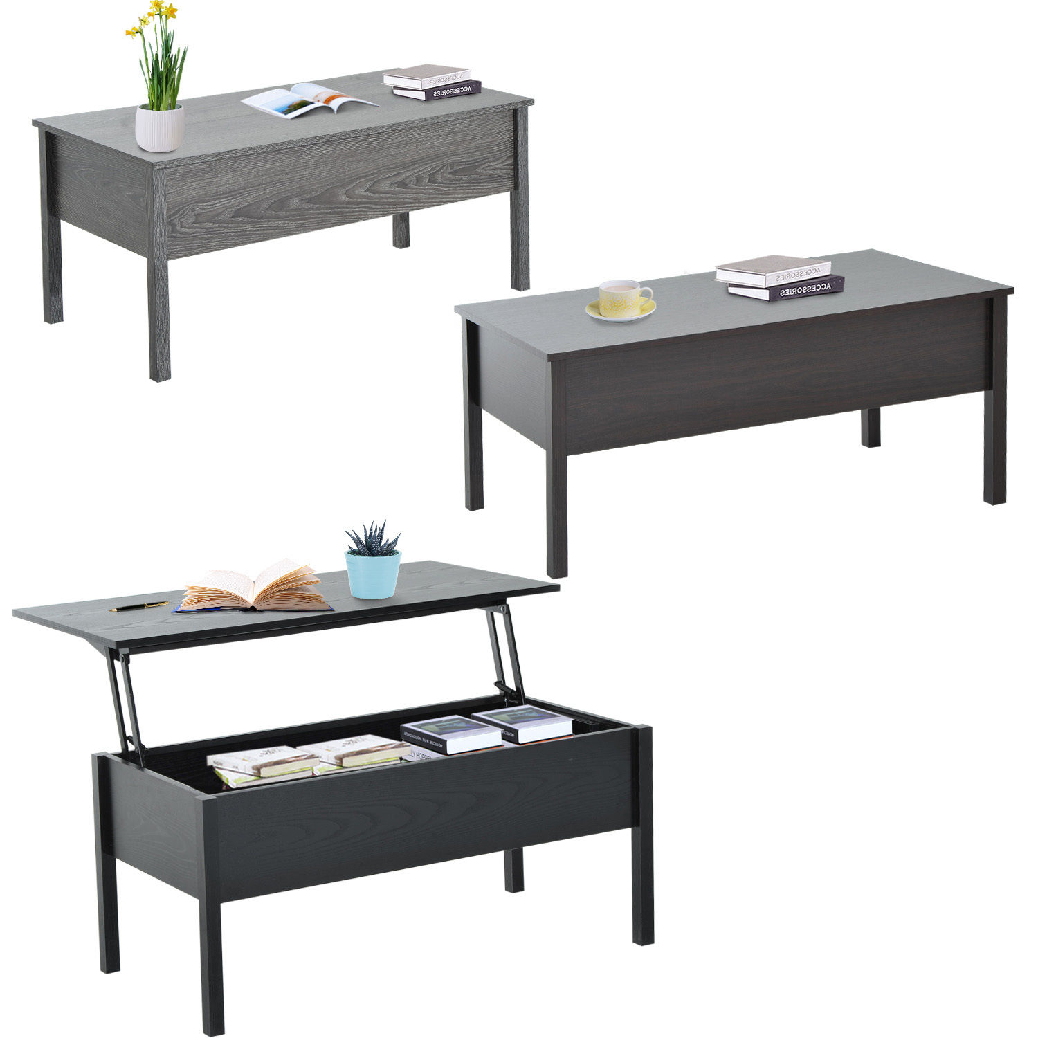 Coffee And End Tables With Storage Details About Modern Coffee End Table Lift Top With Storage Space Living Room Home Furniture