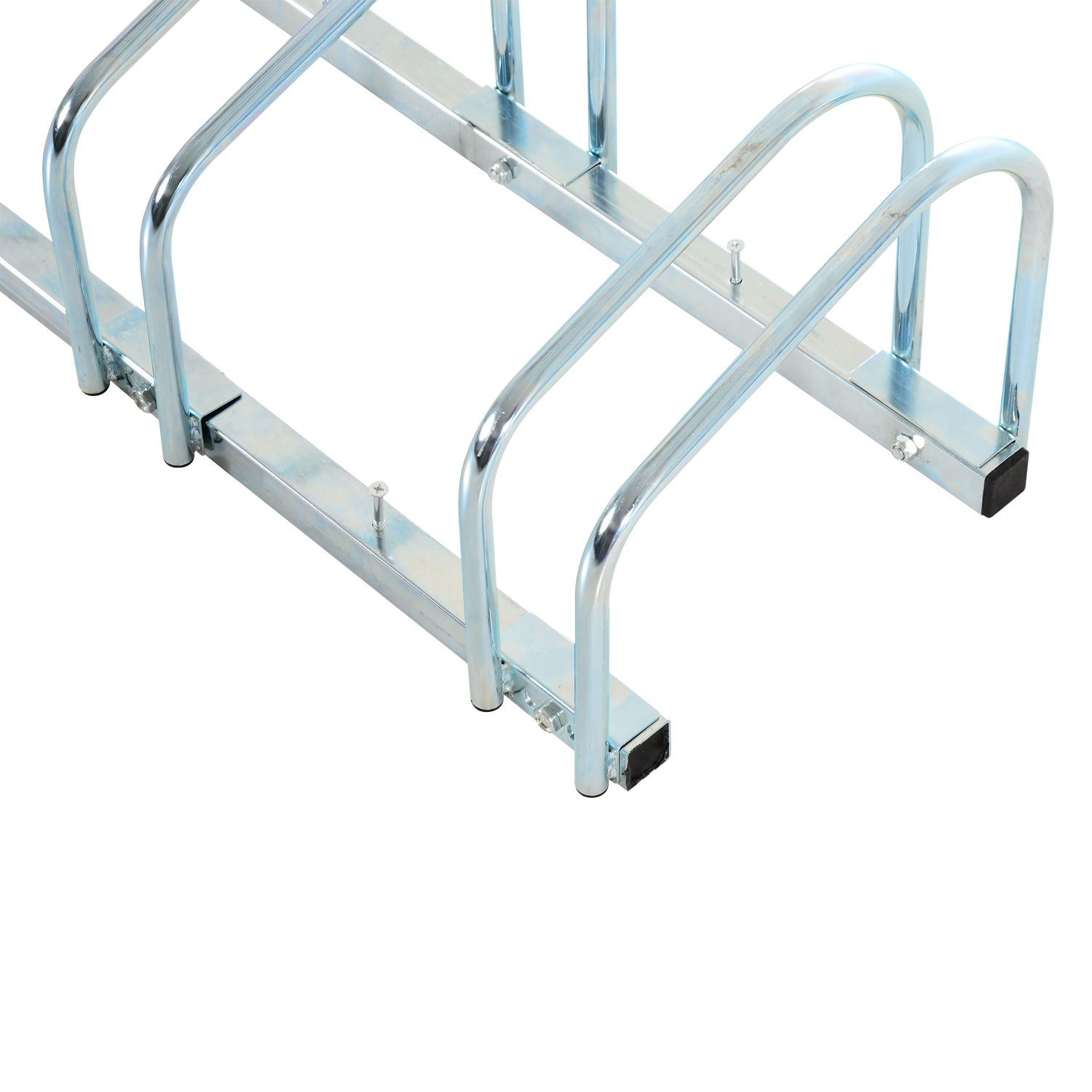 Soporte Bici Suelo Bicycle Bike Parking Cycle Floor Rack Stand Storage Mount