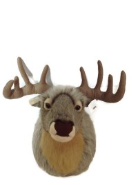 Wild Republic - Stuffed Animal Wall Mount - Big Head Deer