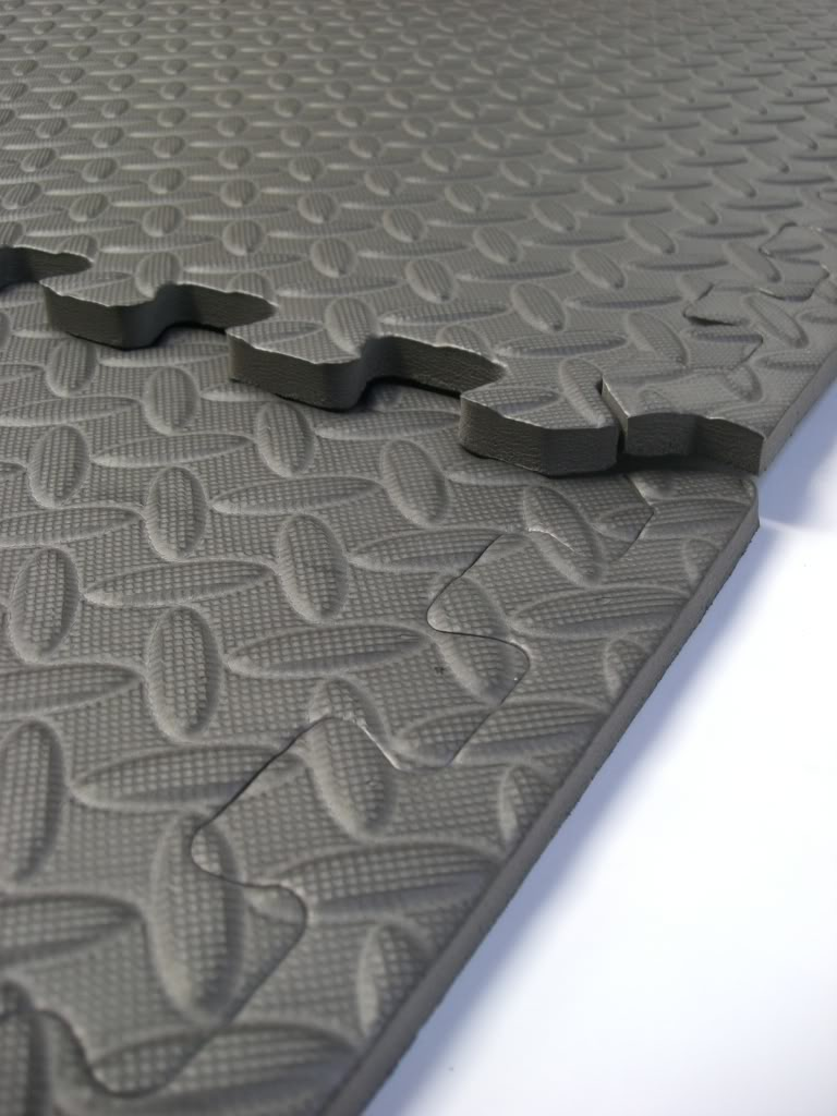 Interlocking Floor Tiles Black Eva Foam Gym Mats Soft Play