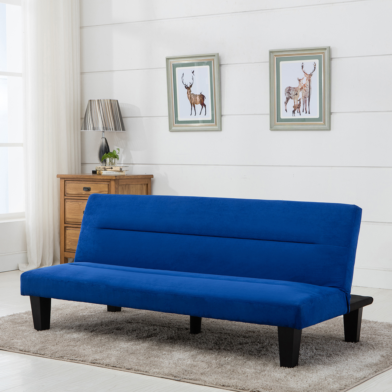 Modern Futon Modern Style Sofa Bed Futon Couch Sleeper Lounge Sleep