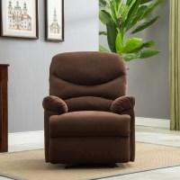 Plush Recliner Livingroom Reclining Chair Man Cave TV ...